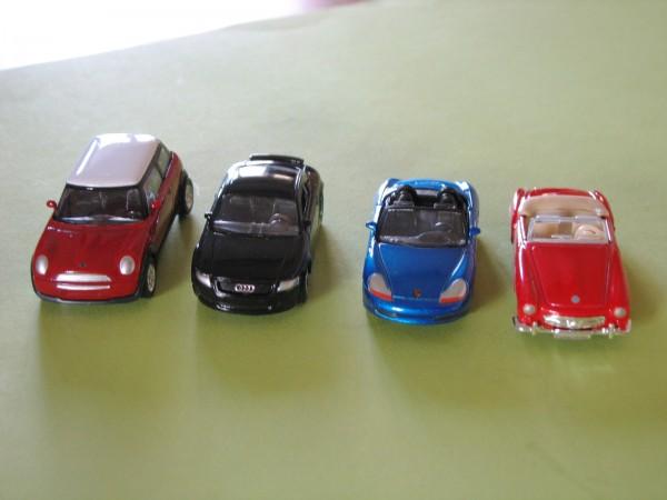 Metall-Modellautos