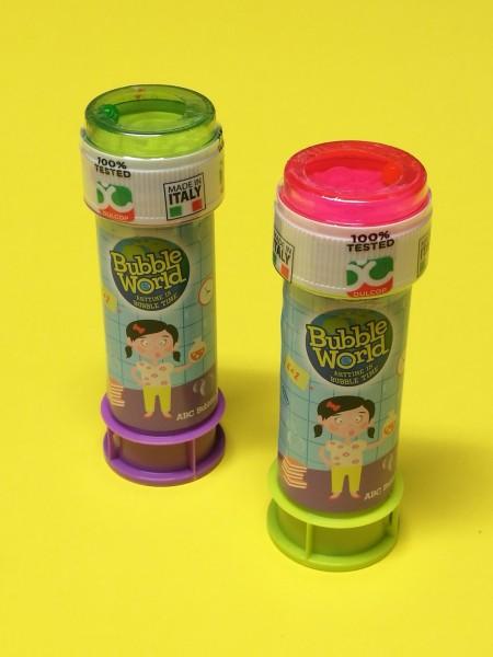 Seifenblasen im Karton