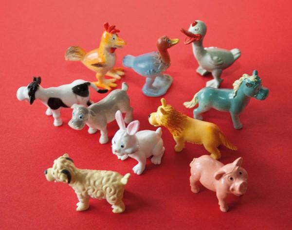 Lustige Farmtiere
