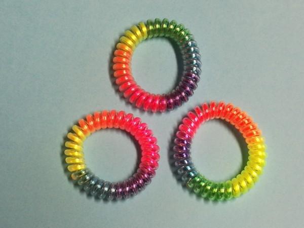 Neon - Armbänder mit Sternchen