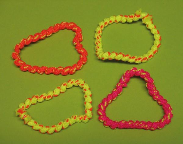 Neon Armbänder