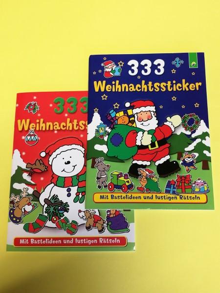 333 Weihnachtssticker