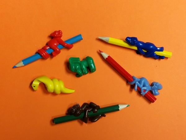 Tier - Bleistift - Aufstecker