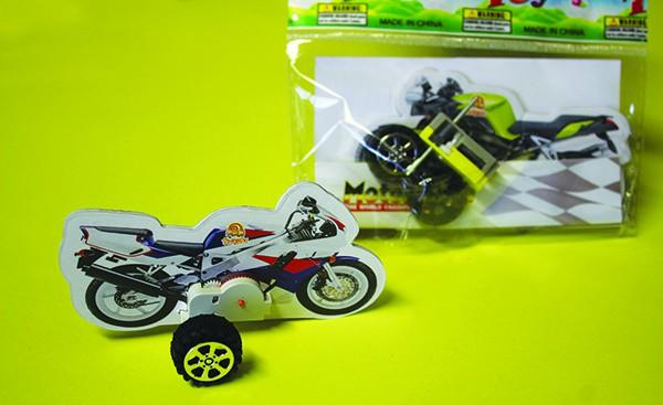 Bastelset Motorrad