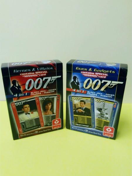 Quartett James Bond 007